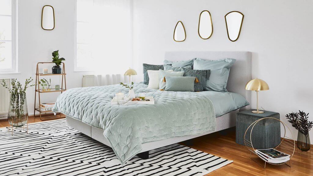 Art deco bedrooms: let yourself be invaded by glamour