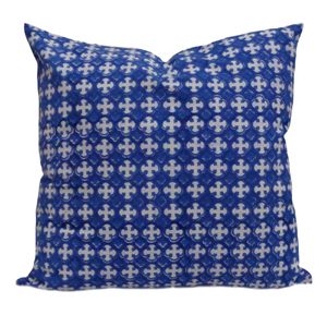 block printed cushions