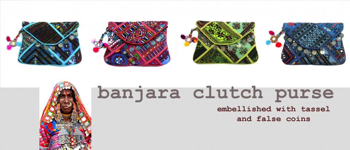 Banjara Clutch Purse