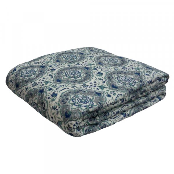Design 2083 Indian Quilted Bedspread Queen Size