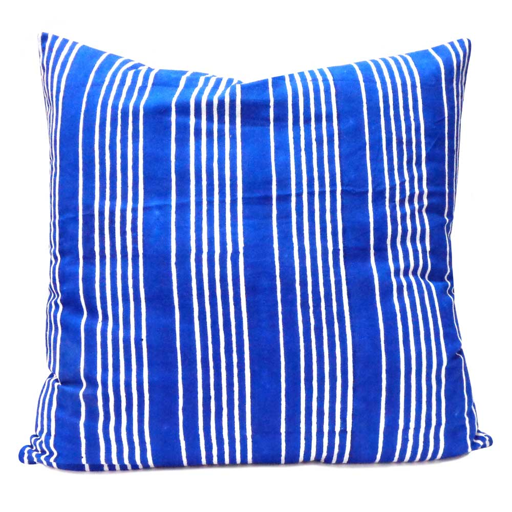 Hand Block Printed Cotton Cushion Cover 50x50 cms | 101228