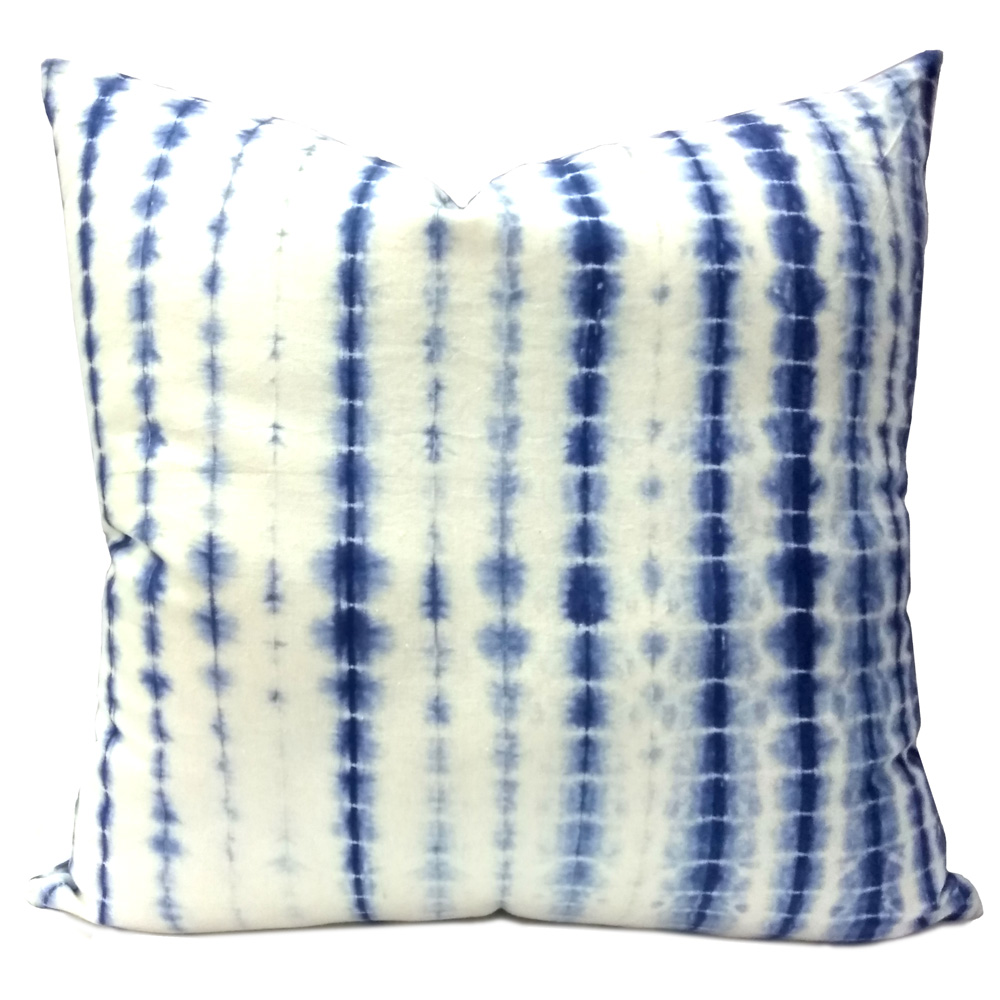 Hand Dyed SHIBORI Cushions Zipper Finish 45x45 cms | 105086