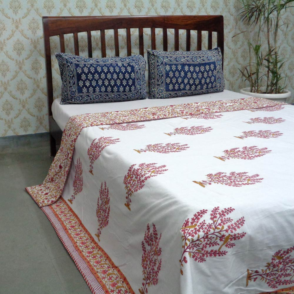 Design TOTAPHOOL LAL 105582 Indian Block printed Queen size