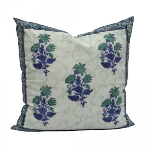 Floral Bale Soft Cotton Cushion Cover SKU 0904