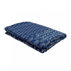 INDIGO PATCHWORK TWIN 2719 Kantha Cotton Bedspread Twin Size