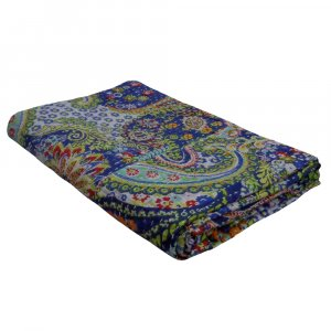 TROPICANA 10663 Kantha Twin Quilt in Cotton