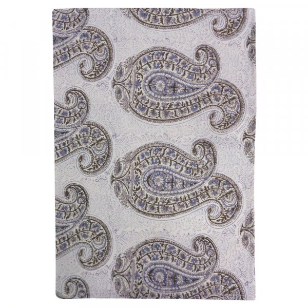Hand Block Printed Cotton Kitchen Towels 50x70 cms | Big Paisley Brown 201296