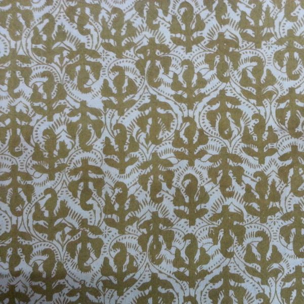 5 Yards Sanganer print on cotton fabric SKU 35229
