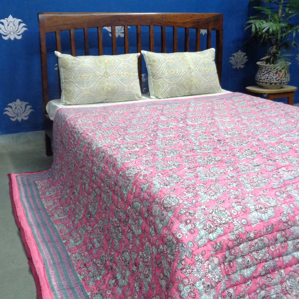 Cotton Quilt King Size | Gerbera Candy 102662