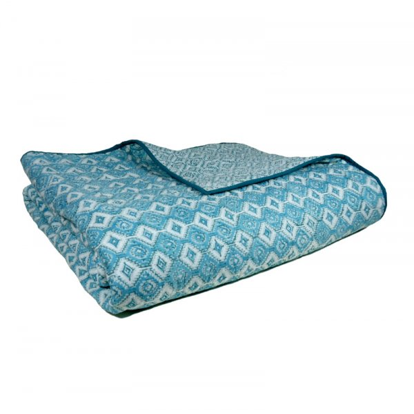 GEOMETRIC DEEP SEA 106895 Summer Quilt King Size