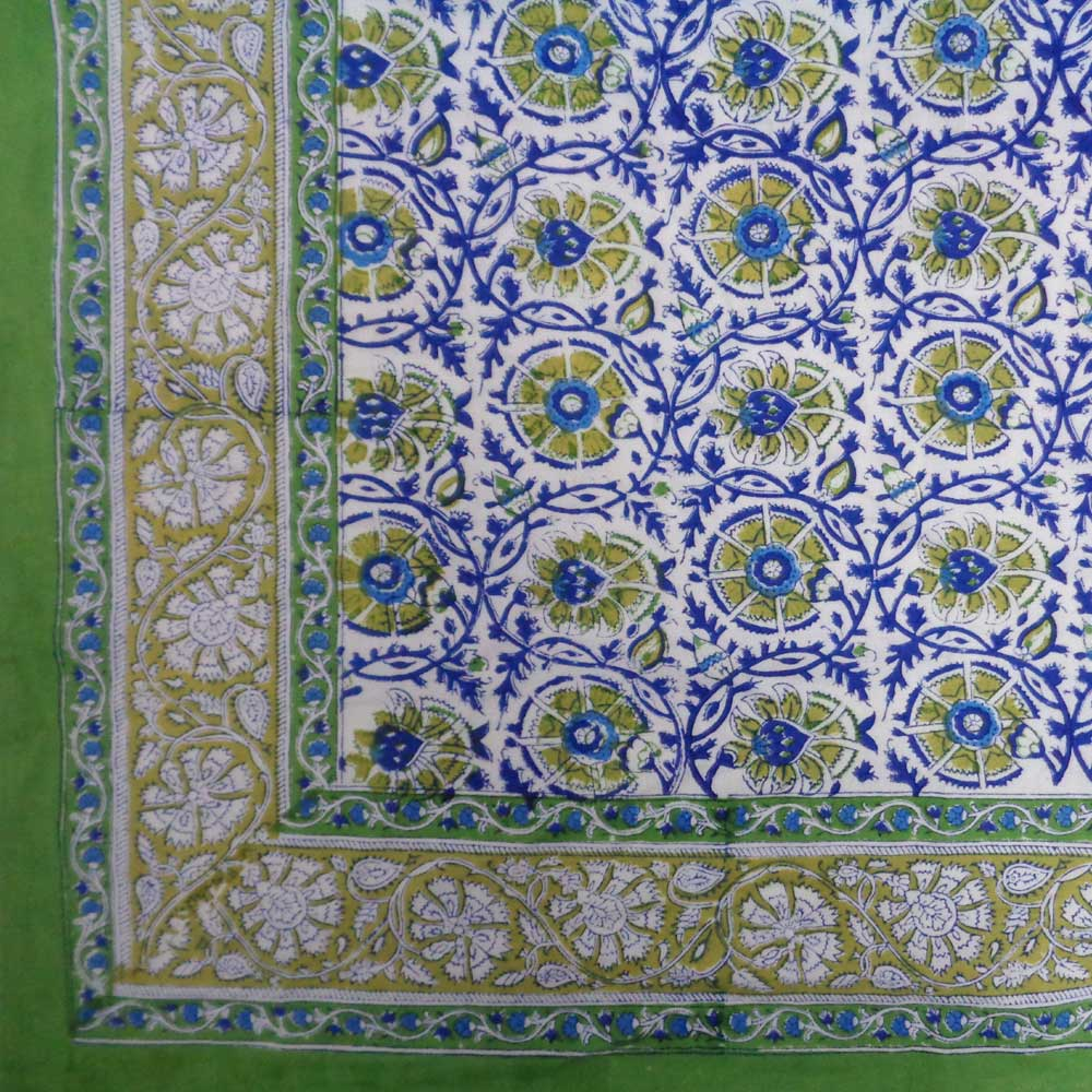 Tablecloth in Cotton | Chakri Open Nili 109167